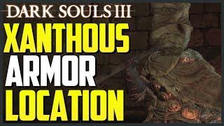 Dark Souls 3: Xanthous Armor Set Location