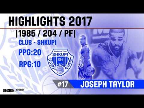 Joseph Taylor Highlights 2017  🇲🇰
