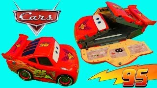 CARS Lightning McQueen Transforming Drift Race Track Takara Tomy Disney Pixar Cars 2 Toys