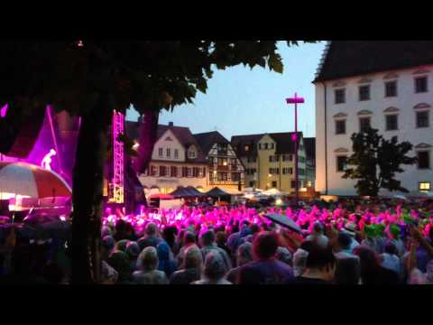 Rea Garvey live 09.08.2015 Rottenburg am Neckar