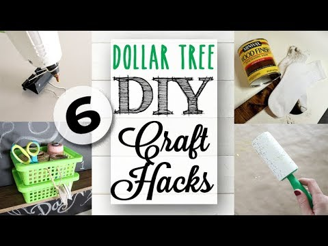 Dollar Tree DIY & Craft Hacks | Easy Ideas!