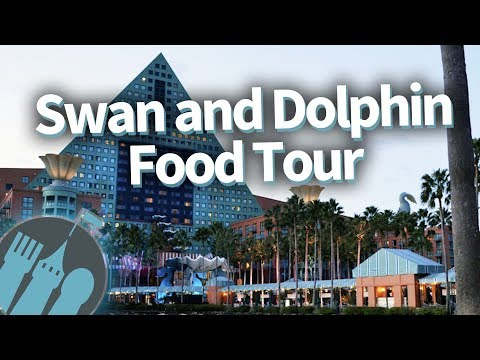 Disney World Food Tour: Swan and Dolphin Resorts!