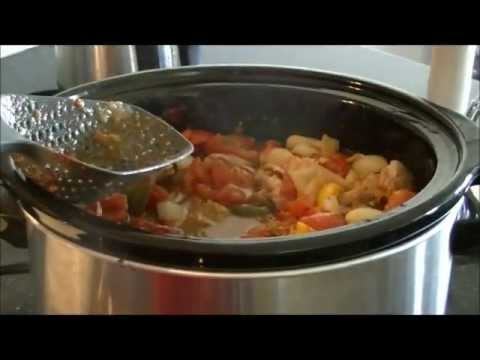 Slowcooker Chicken Cacciatore