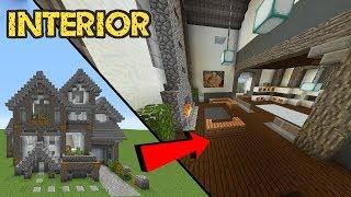 Minecraft Build School: Interior YouTube