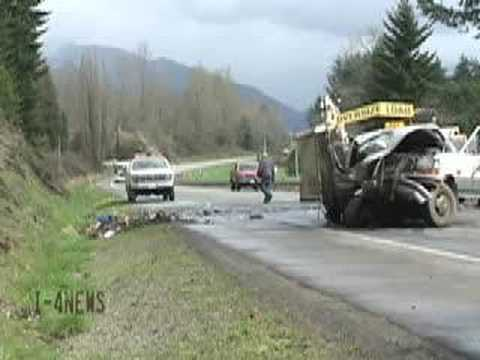 Fatal Head On Accident Six Killed On US12 Near Morton WA from YouTube · Duration:  3 minutes 53 seconds