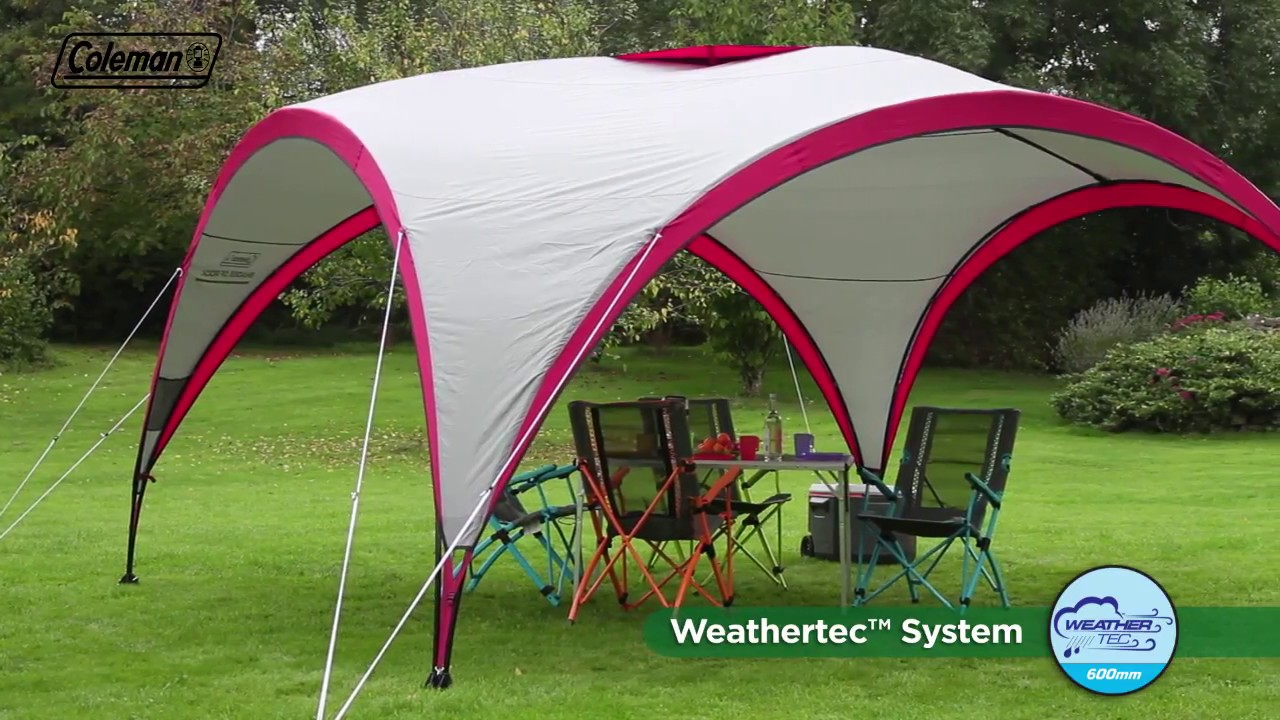 Partyzelt 24 Coleman® Shades Of Rock Event Shelter Xl 4.5 X 4.5 M