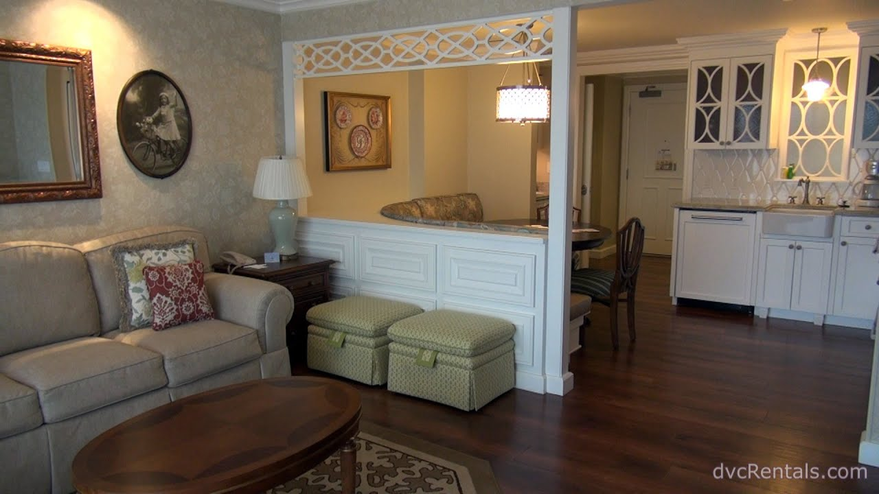 Villas At Disney S Grand Floridian Resort Spa Room Tours 2 Bedroom Villa Walt World You