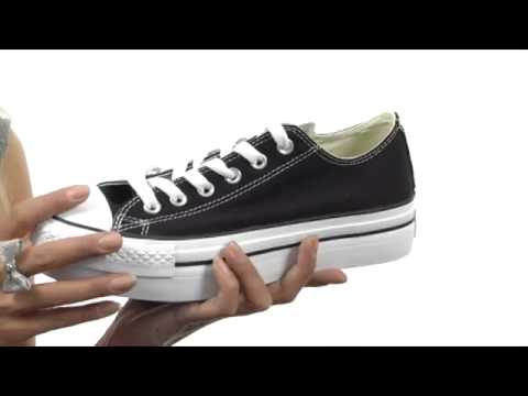 Converse Chuck Taylor® All Star® Platform Ox SKU  8147350 - YouTube 9a46df5be9aaa