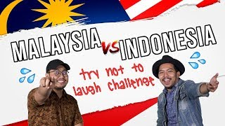 Malaysia Vs Indonesia: Try Not To Laugh Challenge