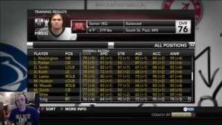 NCAA Football 14 Dynasty: Season 3 Offseason PART 1 (Final Recruiting - Scheduling - Redshirts)