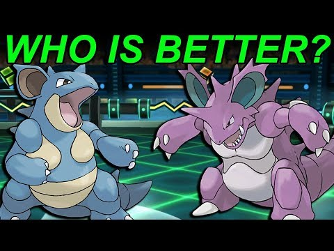 Nidoking vs Nidoqueen! Which Is Better In Pokemon Let's Go?