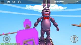 Roblox: Escape FNAF for a Surprise! Gib the Epic Gamer plays