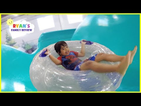 Thumbnail: Surprise Birthday at Great Wolf Lodge Indoor Waterpark Playground for Kids