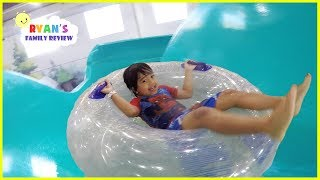 Surprise Birthday at Great Wolf Lodge Indoor Waterpark Playground for Kids thumbnail