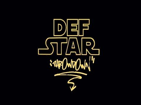 Star wars v Hip-Hop = Def Star Throwdown by Si Spex