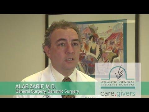 Meet Dr. Zarif, Atlantic General Bariatric Center
