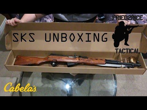 Soviet Tula SKS Unboxing (Cabela's Canada)