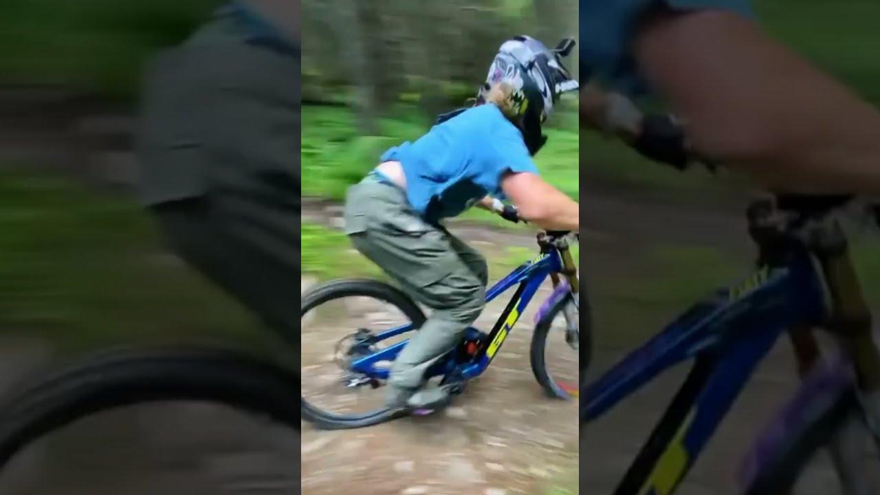😮🔥 Insane Mountain Bike Riding! 🔥