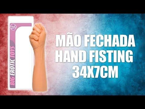 MÃO FECHADA - HAND FISTING 34X7CM | Tulipa Vermelha Sex Shop thumbnail