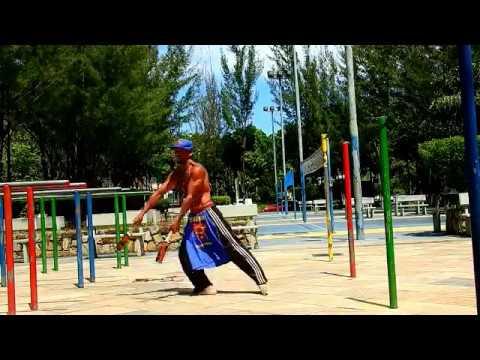 indian club treinando moves novos