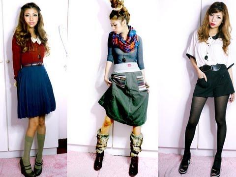 Harajuku Street Style Fashion Youtube