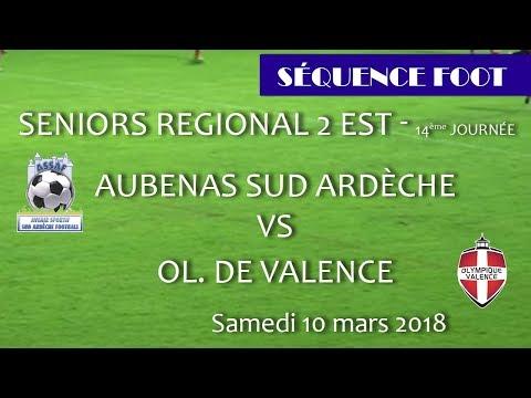 2018 03 10 rencontres sportives séquence foot Aubenas ov
