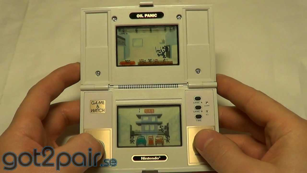 Game boy color quanto vale - Oil Panic Op 51 Nintendo Game Watch