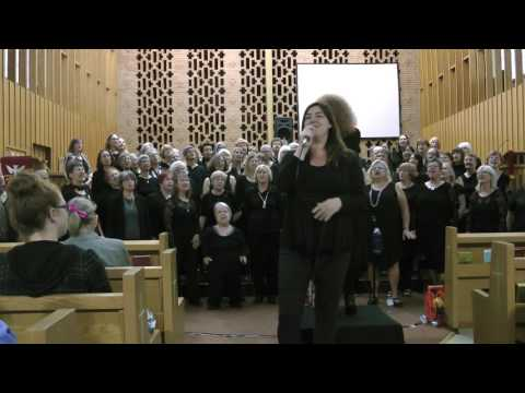 Kingston Shout Sister Choir and Chantal Thompson - final Concert June 2017 - Proud