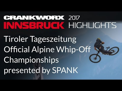 2017 Crankworx Innsbruck Highlights - Official Alpine Whip-Off Championships