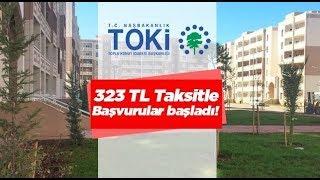 323 TL Taksitle Toki Evleri Projesi