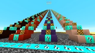 Minecraft LUCKY BLOCK STAIRCASE #2 with Vikkstar, Preston, Rob & Kenny (Minecraft Lucky Block Mod)