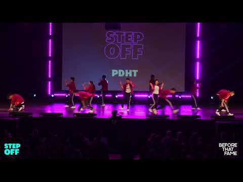 [1st Place] PDHT (WIDE VIEW) | Step Off 2018 | Open Division