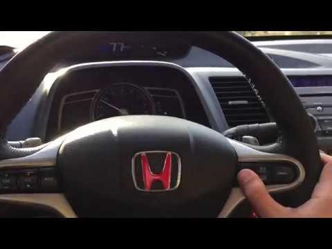 Honda Civic Fd6 Cruise Control Nasıl çalışır Youtube