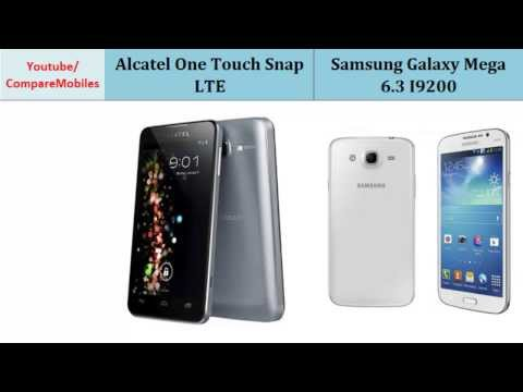 Alcatel OneTouch Snap LTE Video clips
