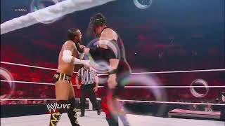Punk And AJ vs. Daniel Bryan and Kane Raw, June 11, 2012