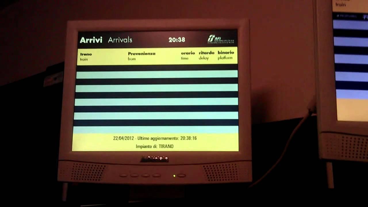 Download RFI IaP home made - annuncio cancellazione treni 2572 e 2576 per sciopero
