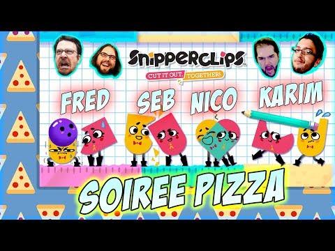 Soirée Pizza ! - SnipperClip avec JDG, Karim & Nico