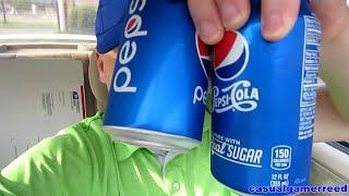 Reed Reviews Pepsi vs Pepsi With Real Sugar