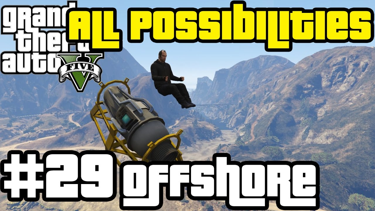 GTA V - The Merryweather Heist [Offshore] (All Possibilities)