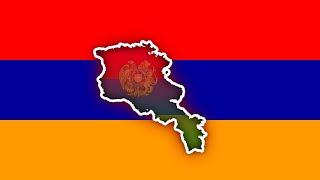 HARİTA ÜZERİNDE ERMENİSTANA GİTMEK! (Baştan Sona Ermenistan!)