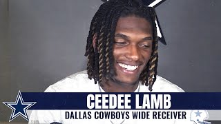 "CeeDee Lamb: ""I'll Cherish That Moment Forever"" | Dallas Cowboys 2020"