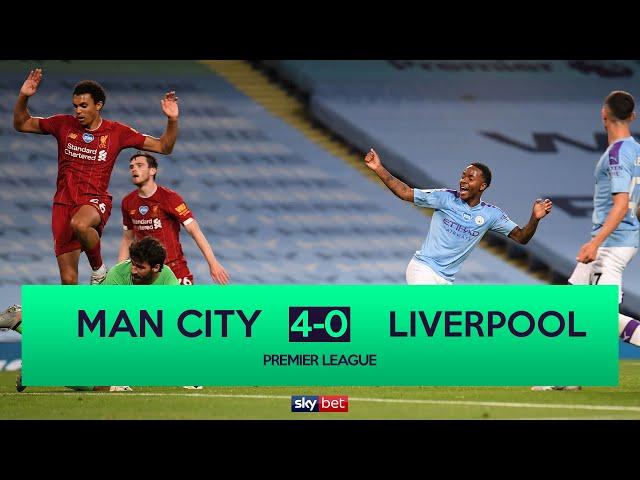 Manchester City 4-0 Liverpool | Man City thrash champions Liverpool