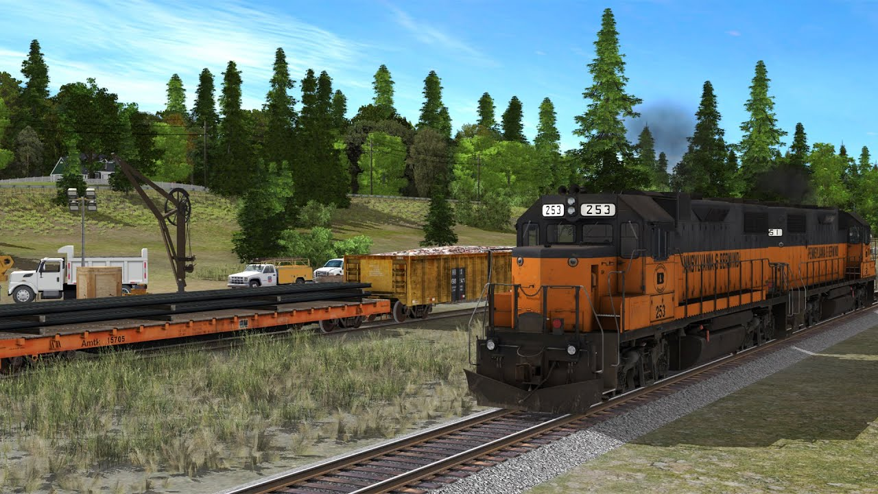 Pleasantville MOW: Trainz Pennsylvania & Berwind 37