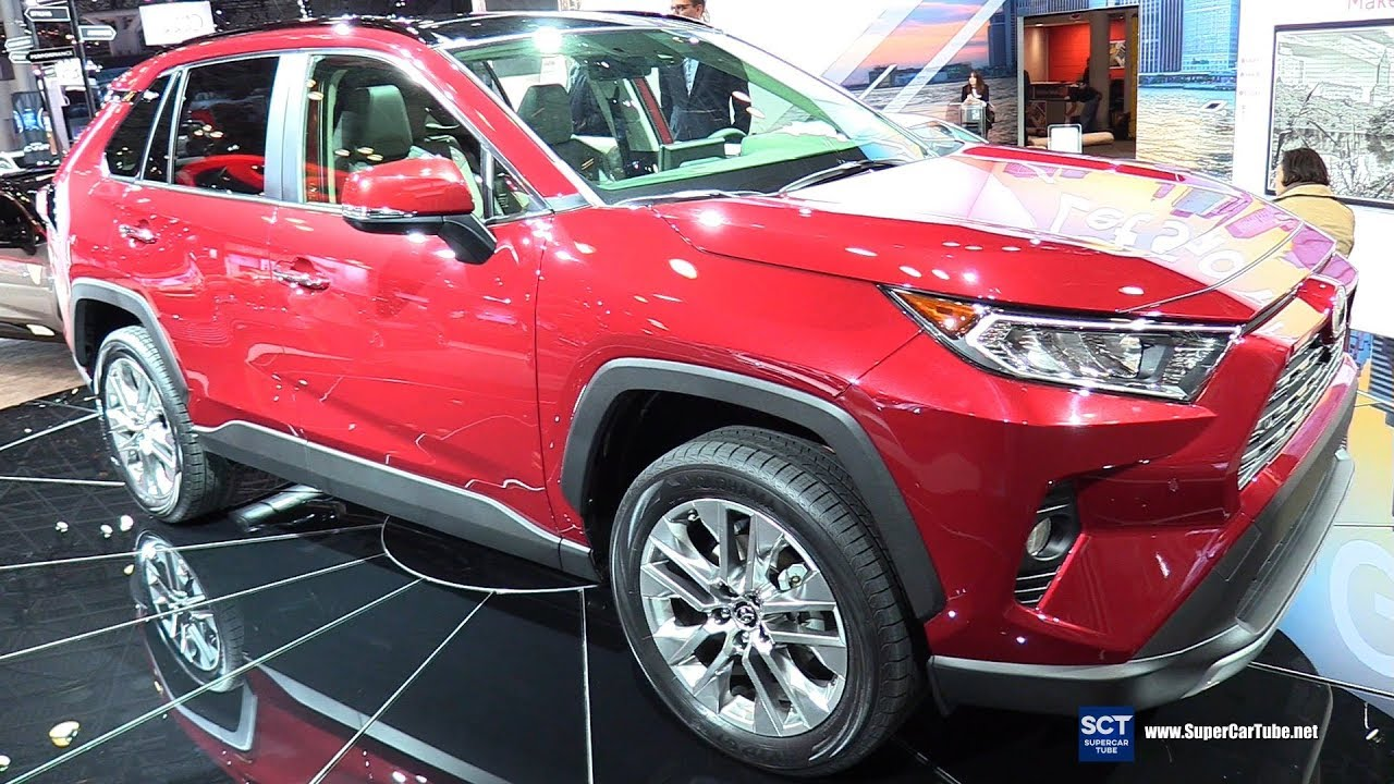 2019 Toyota RAV4 Limited   Exterior And Interior Walkaround   Debut At 2018  New York Auto Show