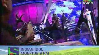 Pyarelals orchestra  Indian Idol 5