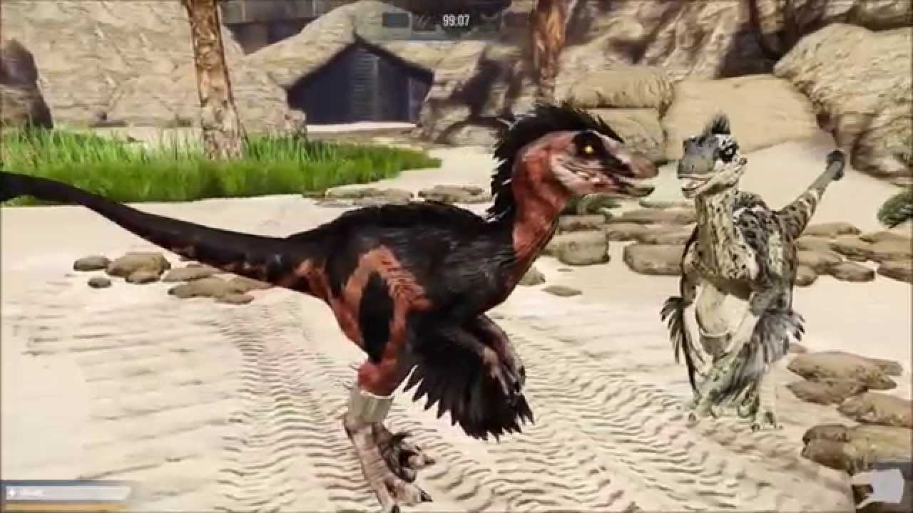 Primal Carnage Feathered Novaraptor