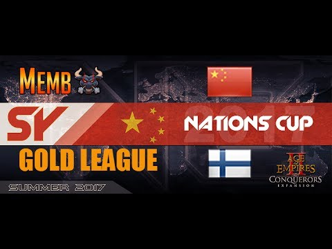 Nations Cup Finland A vs China EMA Golde League Round 1