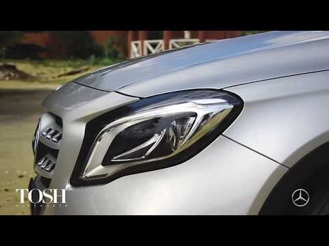 Mercedes-Benz GLA Adventures with Tosh!