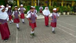 HUT PGRI Ke 71 SDN Rambutan 05 Pagi, Ciracas Jakarta Timur
