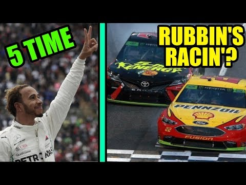 CRAZY NASCAR FINISH | LEWIS GETS 5TH TITLE | JIMMIE JOHNSON NEW SPONSOR